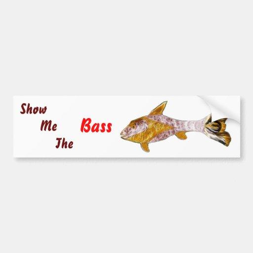 Sun Fish Bumper Sticker