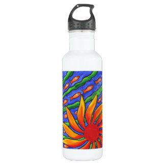 Sun Fish Stainless Steel Water Bottle
