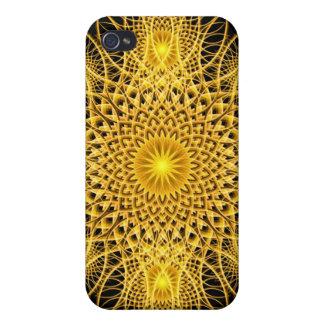 Sun Flake Mandala Cover For iPhone 4