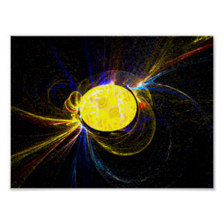 Sun Flares Poster