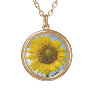 Sun Flower Against Blue Sky Custom Jewelry
