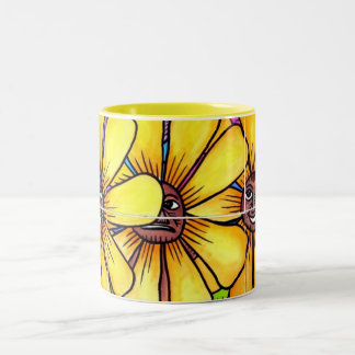 Sun Flower and Friends Mug 1