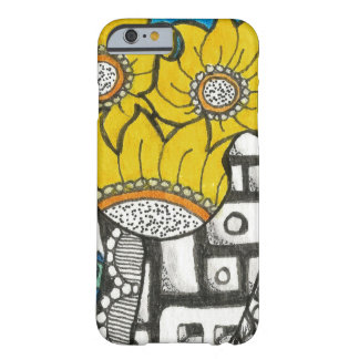 Sun Flower Barely There iPhone 6 Case