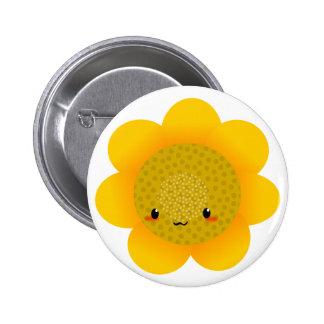 sun flower button