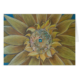 Sun Flower Card