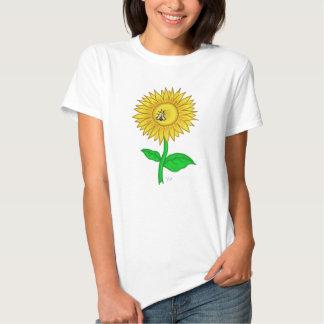Sun flower cute women tshirt