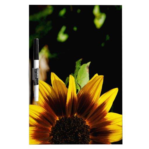 Sun Flower Dry-Erase Board