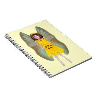 Sun Flower Fairy Notebook