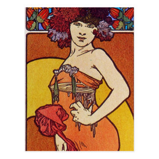 Sun Flower Goddess Postcard