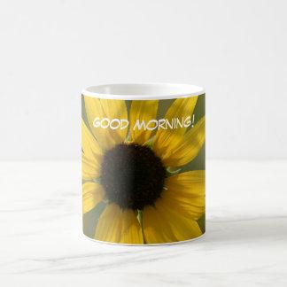 Sun flower, Good Morning! Mugs