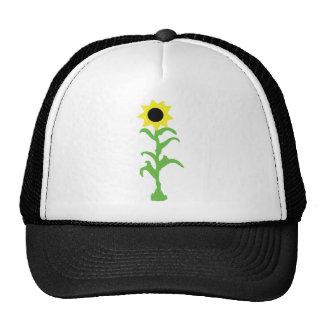 sun flower icon trucker hat