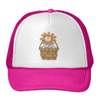 Sun Flower in Basket Trucker Hat
