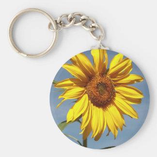 Sun Flower Keychain