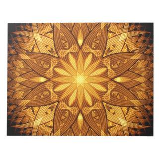 Sun Flower Mandala Notepad