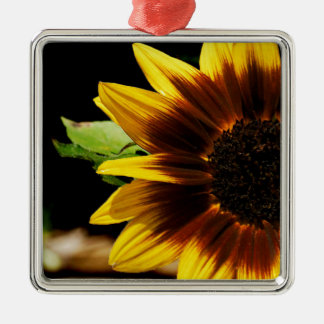 Sun Flower Metal Ornament