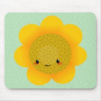 sun flower mouse pad
