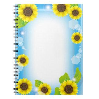 Sun Flower Notebook