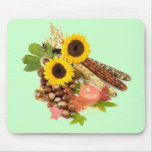 """Sun Flower Still-Life"" Mousepad"
