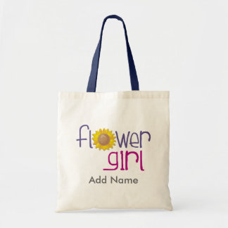 Sun Flowergirl T-shirts and Gifts Budget Tote Bag