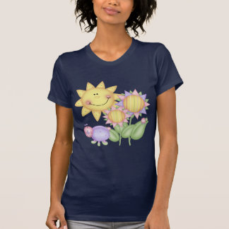 Sun Flowers and Bugs T-Shirt