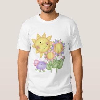 Sun Flowers and Bugs Tee Shirts
