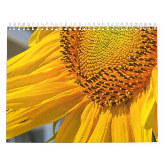 Sun Flowers Calendar