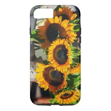 partridgelanestudio Sun Flowers iPhone 7 Case