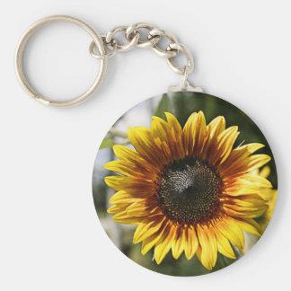 Sun Flowers Key Chain