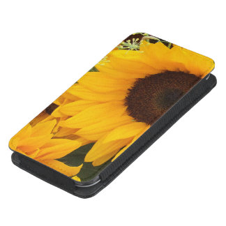 Sun Flowers on iPhone 5s Smartphone Pouch Galaxy S4 Pouch