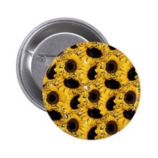 sun flowers petals swim dive marine nature yellow button