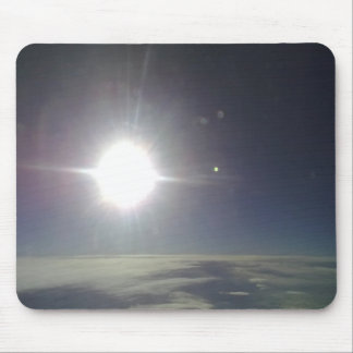 Sun form the sky mouse pad