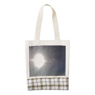 Sun form the sky zazzle HEART tote bag