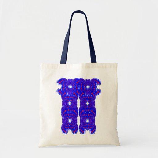 Sun Fractal Reusable Bag
