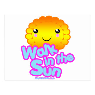 Sun Friend Kawaii t-shirts and more Postcard