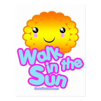 Sun Friend Kawaii t-shirts and more Postcard