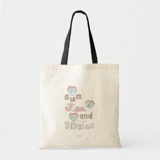 Sun Fun & Giggles Canvas Bag