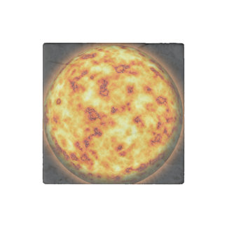 Sun Stone Magnet