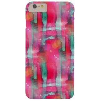 Sun glare abstract painted watercolor barely there iPhone 6 plus case