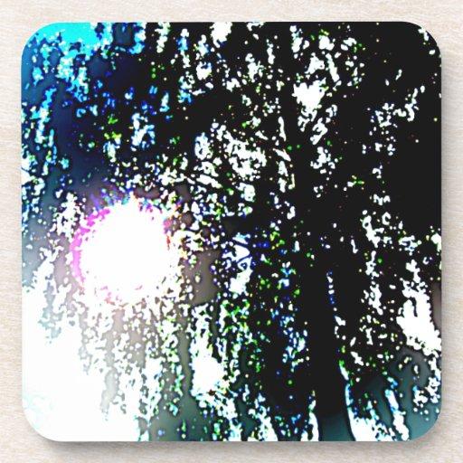 Sun glare coaster