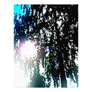 Sun glare letterhead