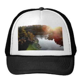 Sun Glare Over St. Louis River Trucker Hat