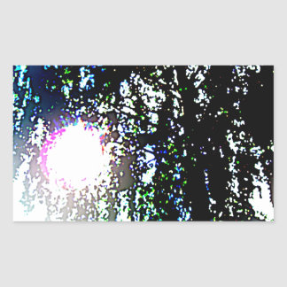 Sun glare stickers