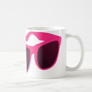 sun glasses classic white coffee mug