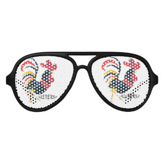Sun Glasses for the Rooster Perso Party Shades