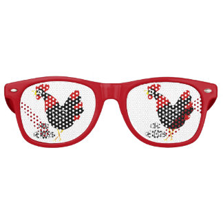 Sun Glasses - Hen Who Rules Wayfarer Sunglasses