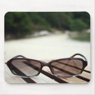 Sun Glasses Mouse Pad