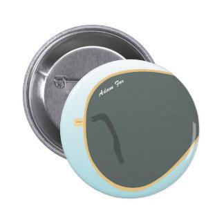 Sun Glasses Pinback Button