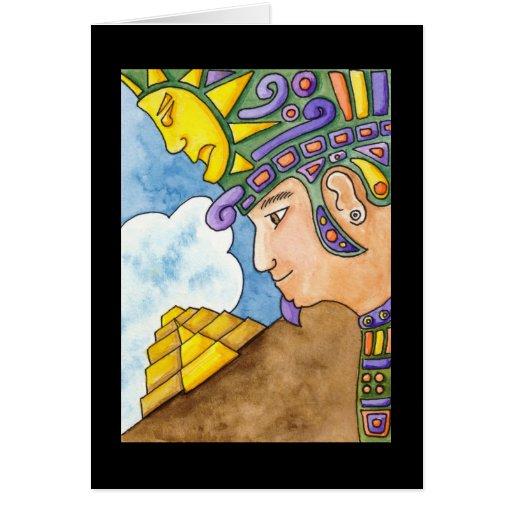 Sun God Card