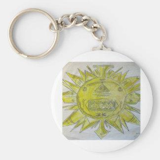 Sun God Keychain