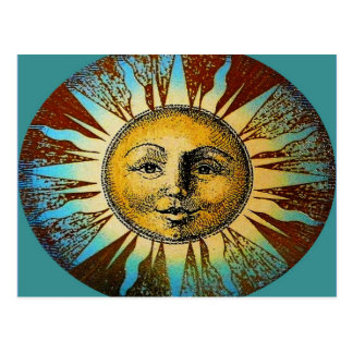 Sun God Postcard